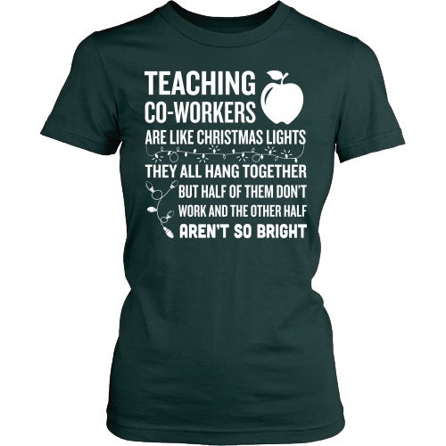 Teacher - Christmas Co-workersT-shirt - Keep It School - 1