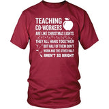 Teacher - Christmas Co-workersT-shirt - Keep It School - 3