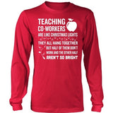 Teacher - Christmas Co-workersT-shirt - Keep It School - 5