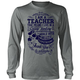 Teacher - Crazy Fantasy - District Long Sleeve / Grey / S - 5