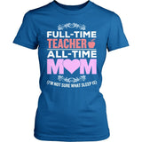 Teacher - Full Time - District Made Womens Shirt / Royal / S - 4
