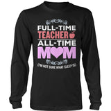 Teacher - Full Time - District Long Sleeve / Black / S - 9