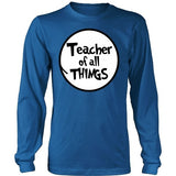 Teacher - Of All Things - District Long Sleeve / Royal Blue / S - 9