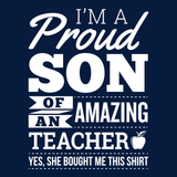 Teacher - Proud Son -  - 14