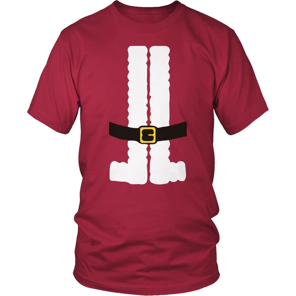 Teacher - Santa Suit - District Unisex Shirt / Red / S - 1