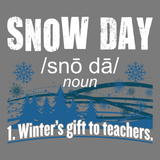 Teacher - Snow Day Definition -  - 13