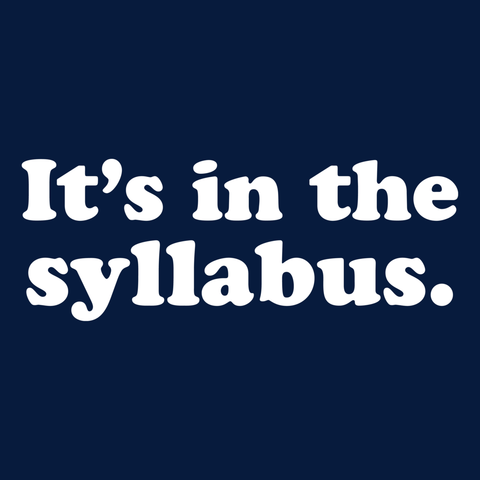 Teacher - Syllabus -  - 13