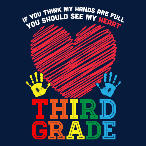Third Grade - Full Heart -  - 14