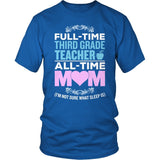 Third Grade - Full Time - District Unisex Shirt / Royal Blue / S - 8