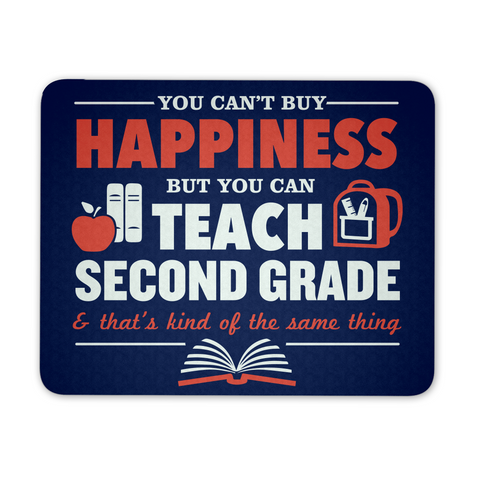 Second Grade - Happiness Mousepad - Mousepad - 1