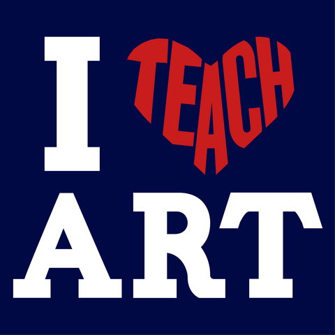 Art - I Teach Mousepad -  - 2