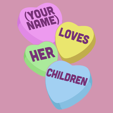 Teacher - Candy Hearts Children -  - 15