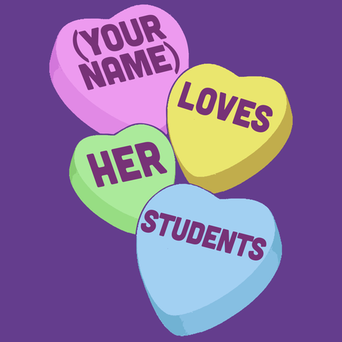 Teacher - Candy Hearts Students -  - 15