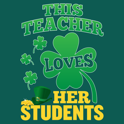 Teacher - St. Patrick's Day Her Students -  - 14