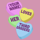 Third Grade - Candy Hearts -  - 15
