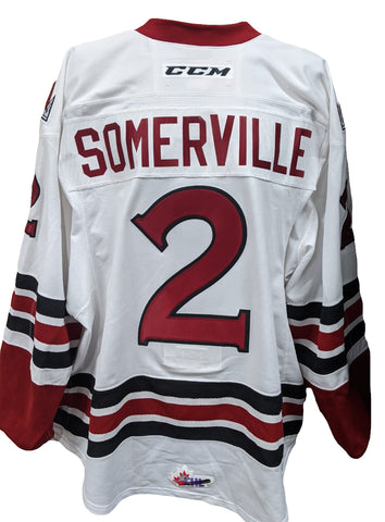 17-18 #2 Somerville Game Worn Jersey