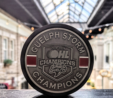 OHL Champions Medallion Puck