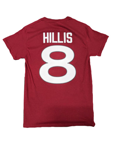 "Player Tee - #8 Cam Hillis ""C"""
