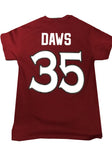 Player Tee - #35 Nico Daws