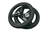 "Grimeca 17"" 3 Blade Peugeot Wheel Set Tire Combo"