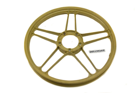 "NOS Puch 17"" 5 Star Mag - GOLD"