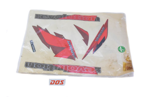 NOS Derbi Revolution Decal Set