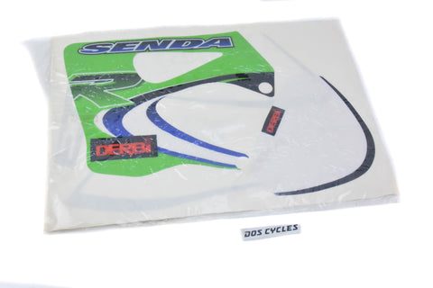 NOS Derbi Senda Decal Set - Green