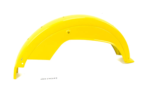 Motobecane 50v Rear Fender - Yellow
