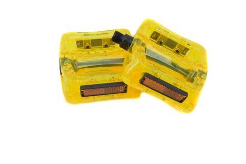 Yellow Plastic Pedals