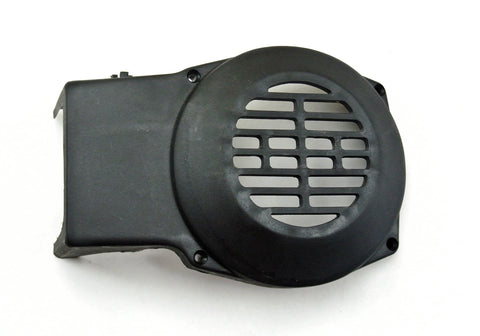 Minarelli V1 Black Plastic Fan Cover - 4 Bolt