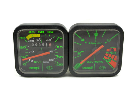 Derbi Speedo Tach Combo Pack