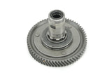 Derbi Flat Reed Gear and Output Shaft Assembly - USED