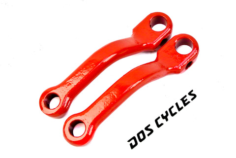 Red Pedal Crank Arms