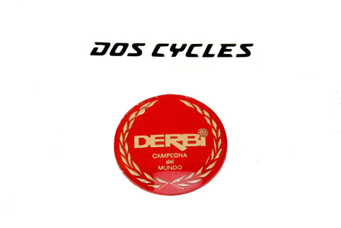 Derbi Tank Badge