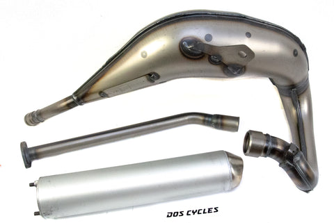 Derbi Senda Yasuni Cross Exhaust - Silver
