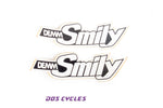 Demm Smily Tank Decals