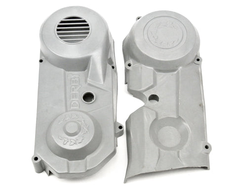 Derbi Piston Port/Pyramid Engine Covers