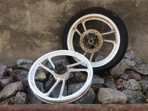 Suzuki RG50 Wheels - Used