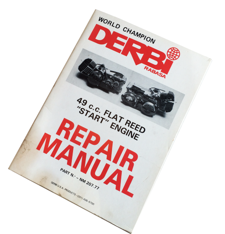 Derbi Flat Reed Repair Manual