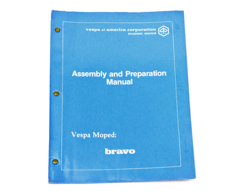 Vespa Bravo Shop Manual