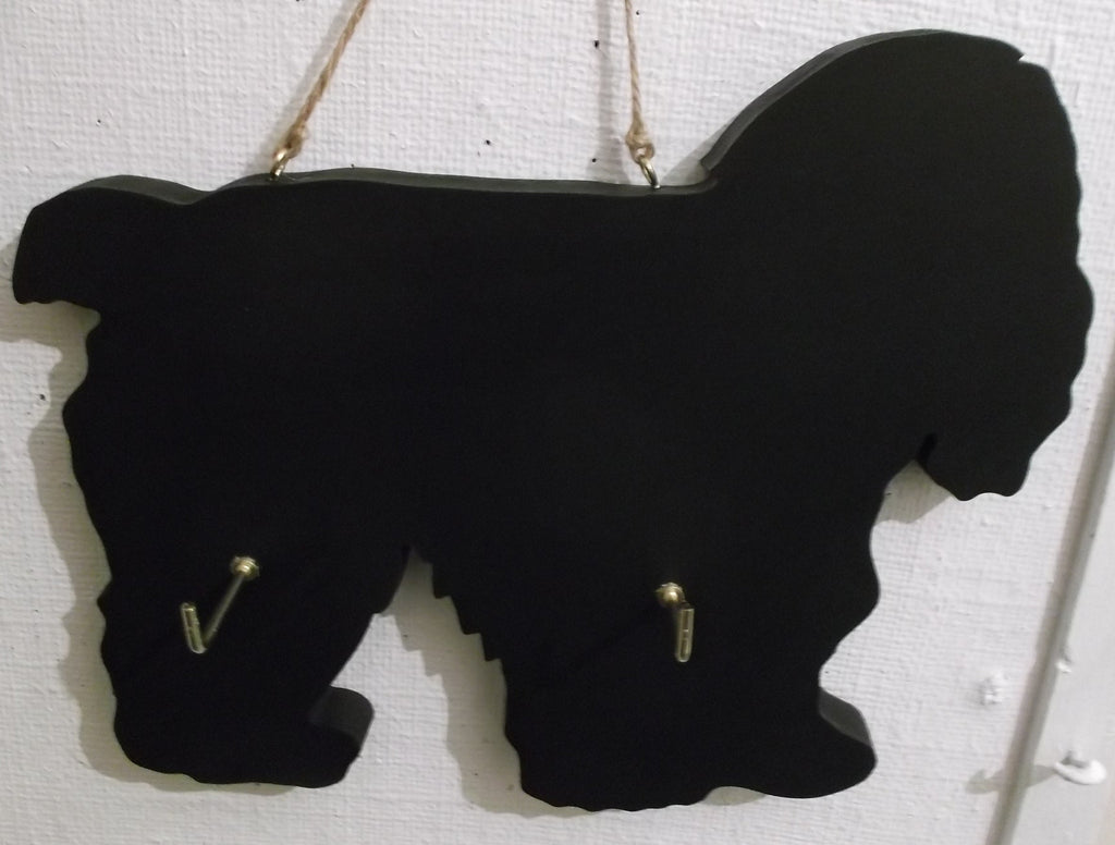 AMERICAN COCKER SPANIEL DOG shaped Key / Lead holder chalkboard surface Pet Supplies puppy - Tilly Bees
