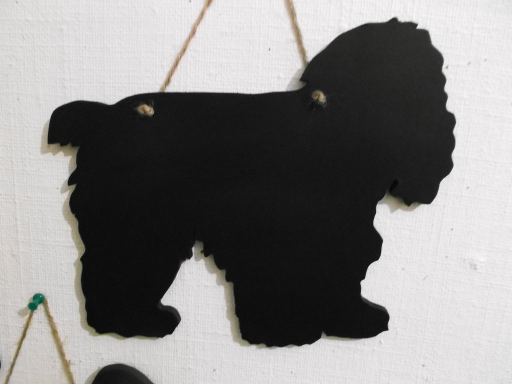 Cocker Spaniel American Dog Black Chalkboard Christmas or Birthday gift - Tilly Bees