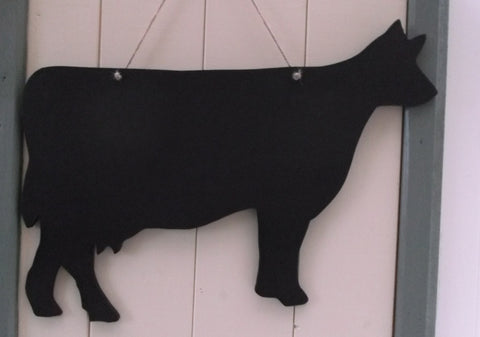 DAIRY COW shaped chalk boards Farm animal & pet Pig Sheep Butchers shop pet supplies 18 x 13 inch