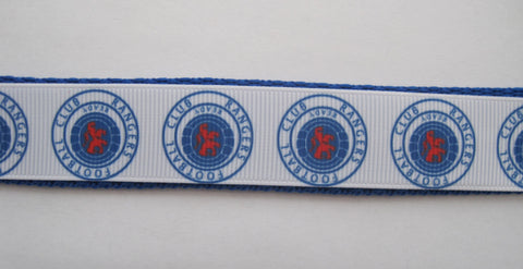 Dog Collar handmade themed patterns like English football team like Celtic 5 sizes available