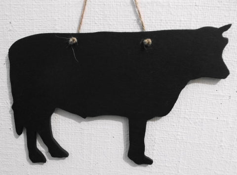 BULL shaped chalkboard Farm animal handmade blackboards any shape can be made to order