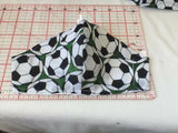 Football patterned face masks available in 3 sizes Face covering Washable Handmade 100% Cotton near face 2 Layers