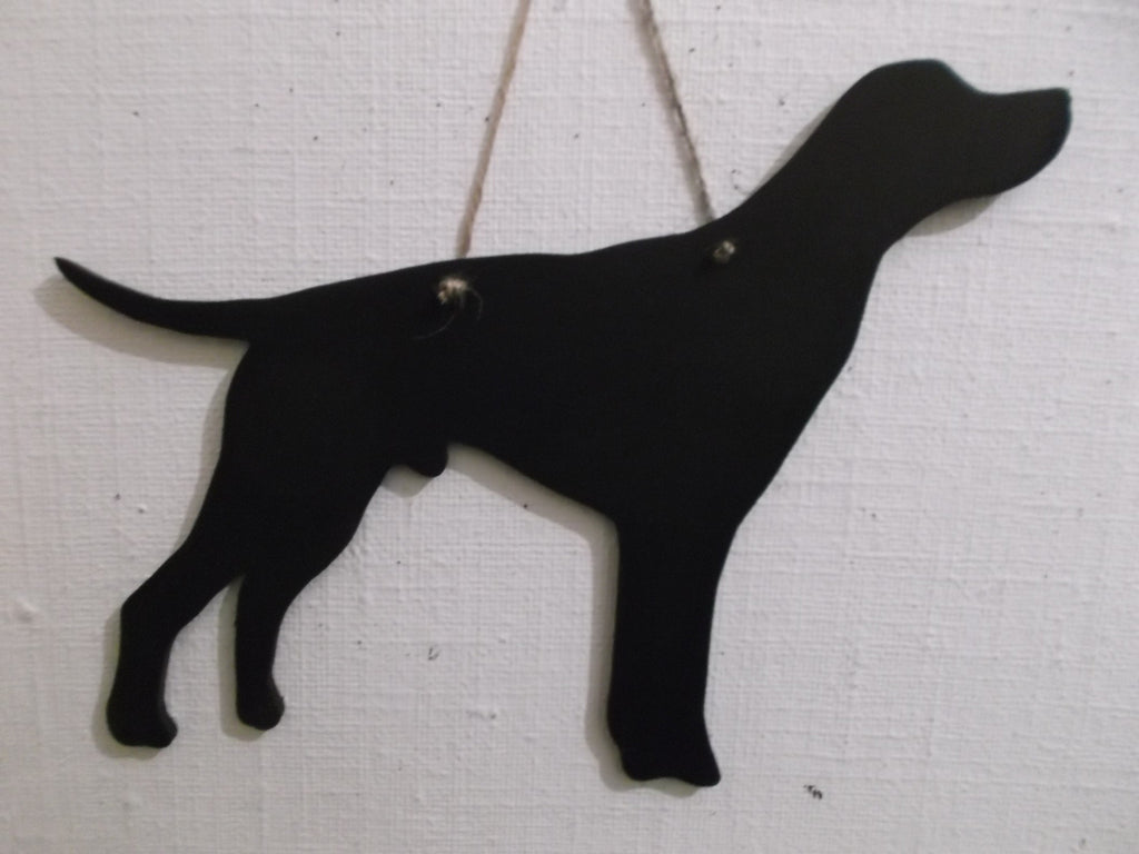 POINTER English Short Coated Pointer Dog Shaped Chalk board Blackboard - Tilly Bees
