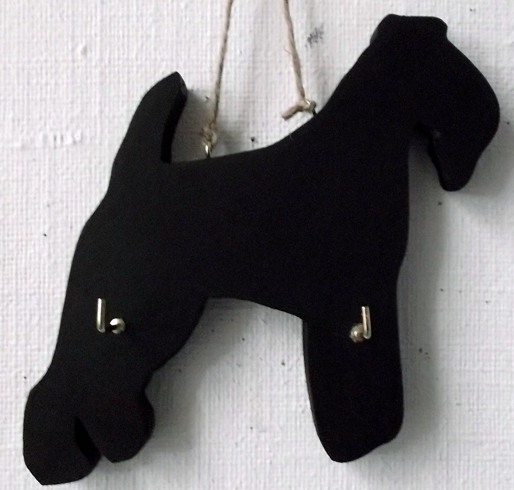LAKELAND DOG shaped Key / Lead holder with chalkboard surface Christmas Gift Pet Supplies puppy - Tilly Bees