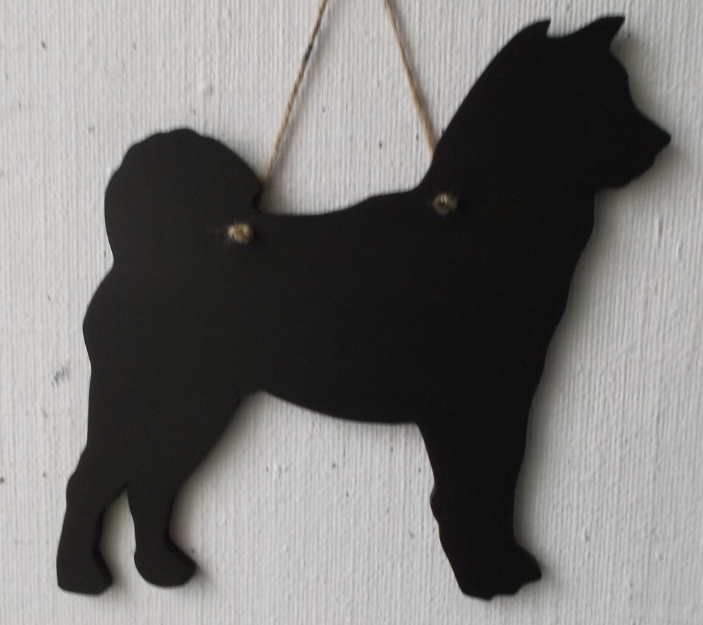 Shiba Inu Dog Shaped Chalk board Blackboard - Tilly Bees