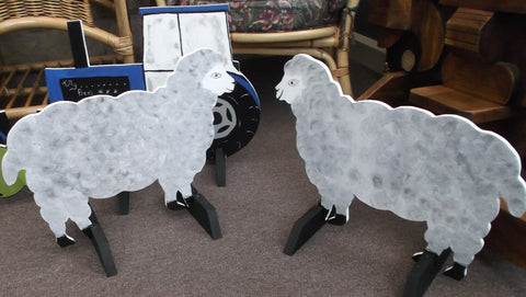Horse / Pony Show Jump Filler Wings x 2 SHEEP shapes Riding School Equestrian show jumping